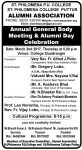 Alumni Association Invitation