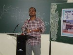 M.Sc. Physics: Guest Talk on General Theory of Relativity