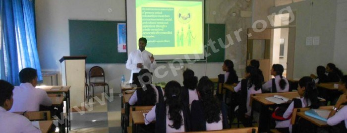 Guest lecture on acts governing organisation