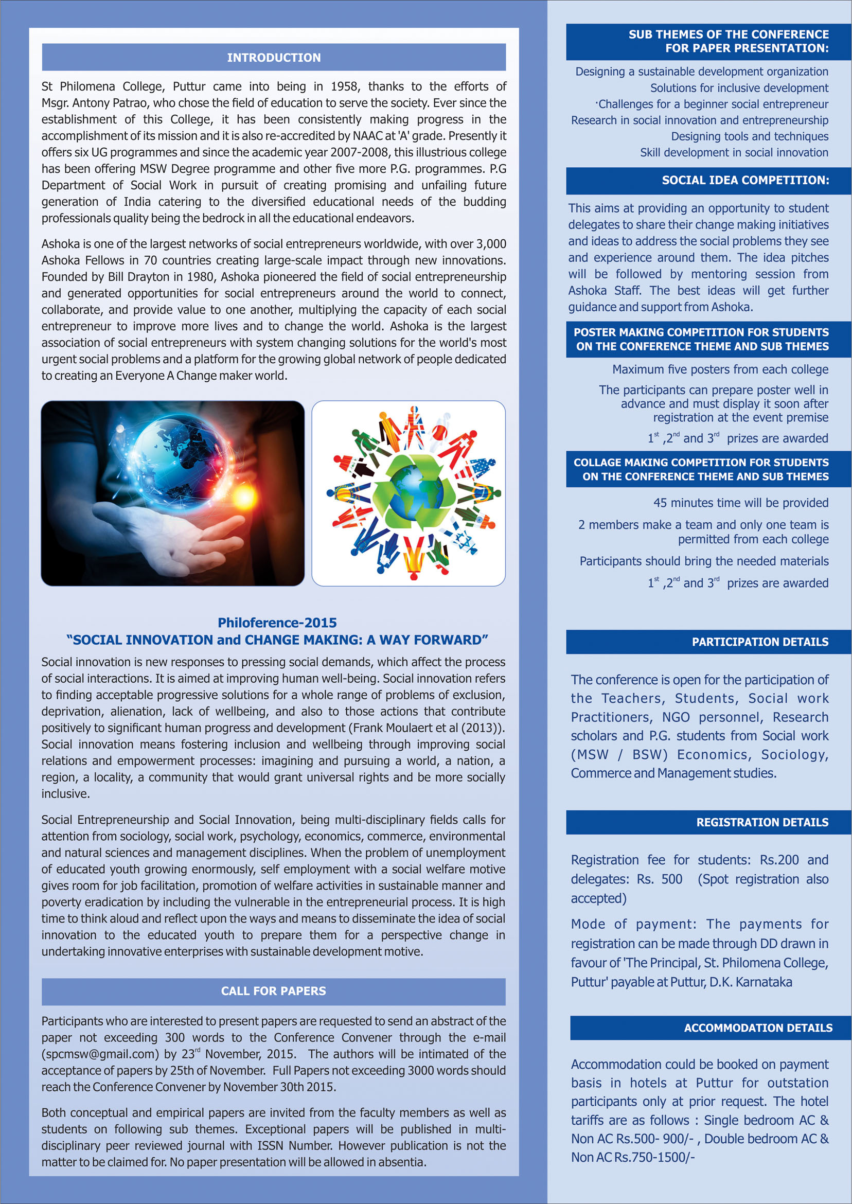 social entrepreneurship research papers This paper is brought to you for free and is defined as a process of social value creation in the dependent variables of social entrepreneurship research.