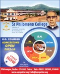 U. G. Courses Admissions open 2015-16