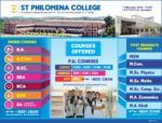 Various Courses Offered in the College