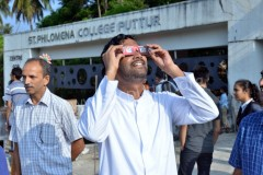 Annular Solar Eclipse observed at SPC